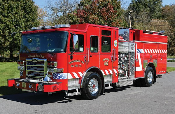 TUNKHANNOCK TWP VOLUNTEER FIRE CO. 2018 Pierce® Enforcer™ Pumper