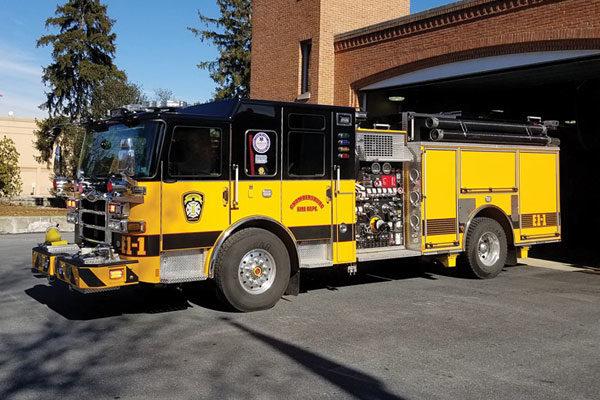 CHAMBERSBURG FIRE DEPT - Pierce Enforcer 31171
