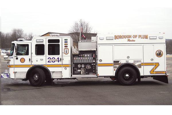 RENTON VOLUNTEER FIRE DEPT - Saber Pumper 31262