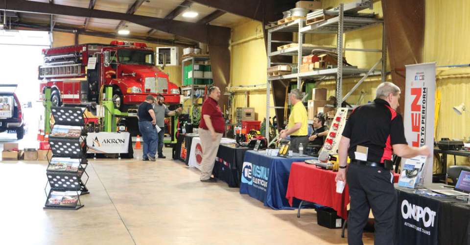 Glick Fire Equipment Mill Hall PA Open house vendors1
