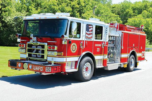 Upper Allen Fire Dept. Pierce Custom Pumper 31894