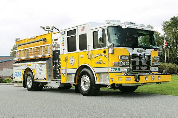 Denver Fire Company Pierce Pumper 32243