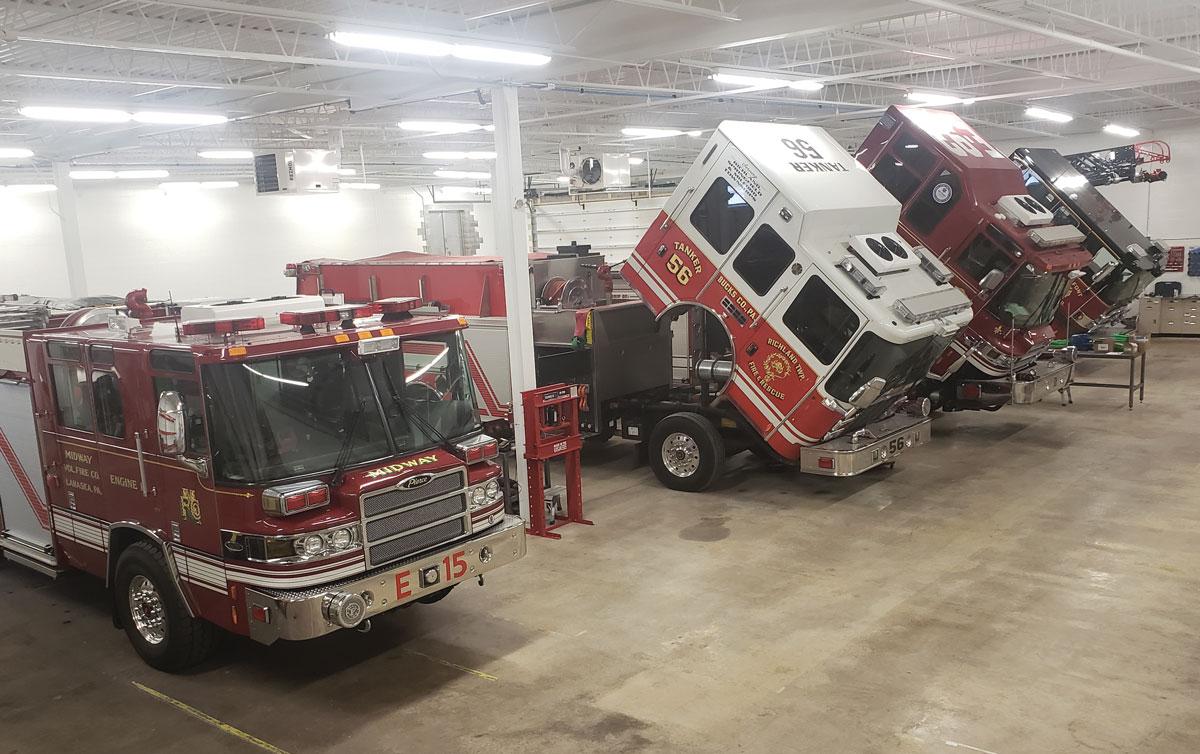 Glick Hatfield 4 trucks in first week