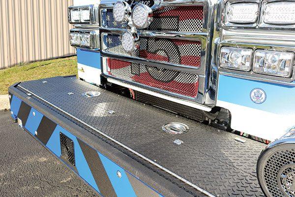 Horsham Fire Company No. 1 front-bumper