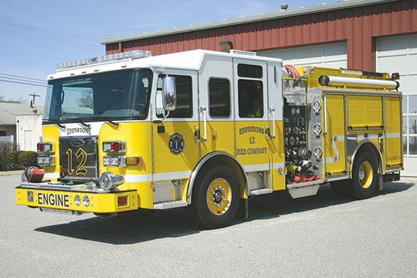 EDDYSTONE FIRE COMPANY - Pierce Saber Custom Pumper