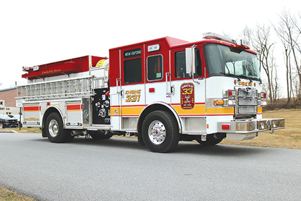 UNITED HOOK & LADDER CO No 33 – New Oxford, PA