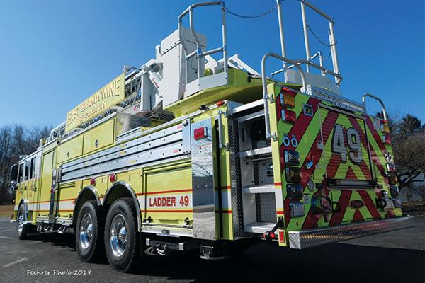 EAST BRANDYWINE FIRE CO. - 105' Heavy Duty Ladder