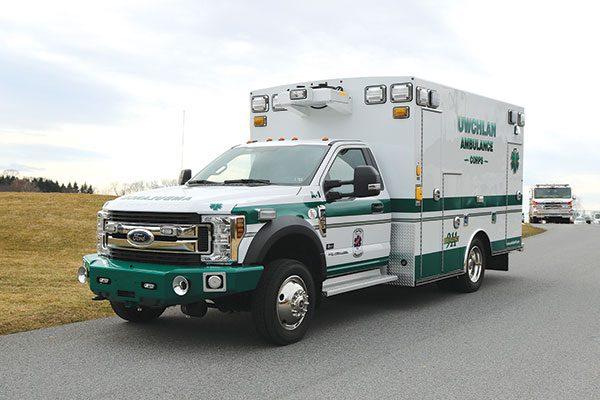 UWCHLAN AMBULANCE CORPS – Braun Type I Ambulance