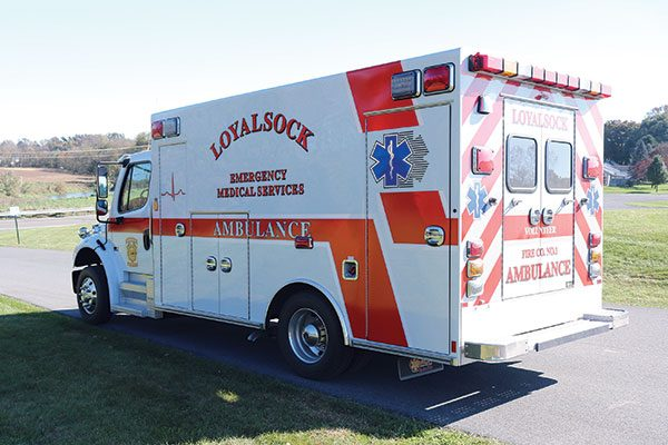 LOYALSOCK TWP VOLUNTEER FIRE DEPARTMENT Ambulance