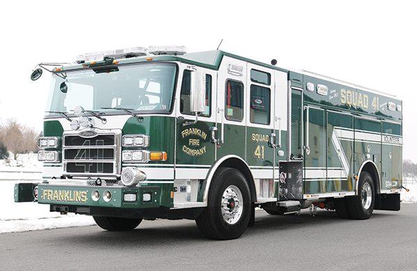 FRANKLIN FIRE COMPANY No 4 - Pierce Rescue Pumper