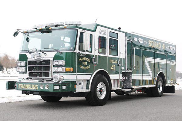FRANKLIN FIRE COMPANY No 4 – Rescue Pumper - Glick Fire Equipment
