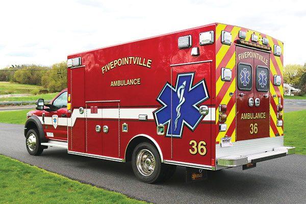 Fivepointville Ambulance Braun Chief XL