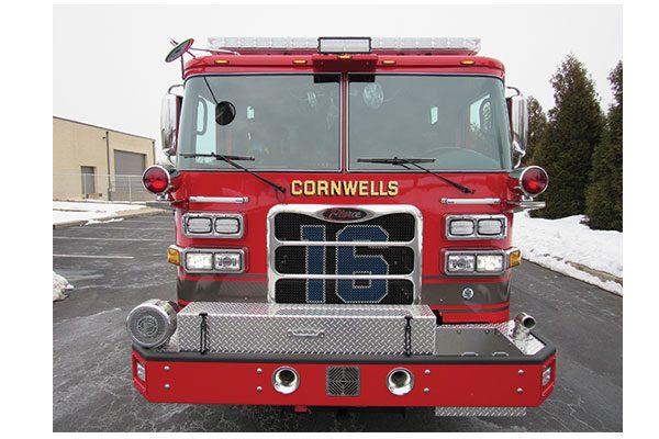 CORNWELLS FIRE CO No 1 - Heavy Duty Rescue Pumper