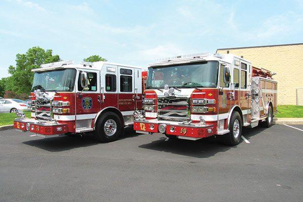 DOYLESTOWN FIRE CO No 1 - Pierce pumper
