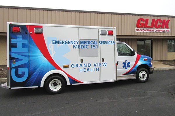 GRAND VIEW HOSPITAL Demers MX-164 Type III ambulance