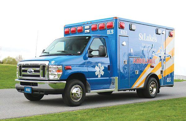 ST. LUKE'S HOSPITAL - Type III ambulance