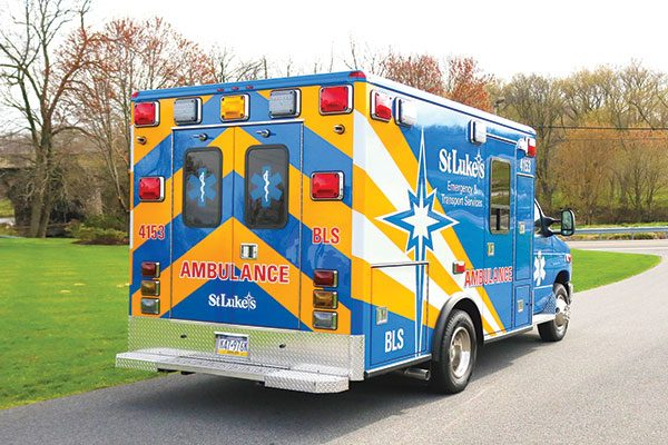 ST. LUKE'S HOSPITAL - Type III ambulance