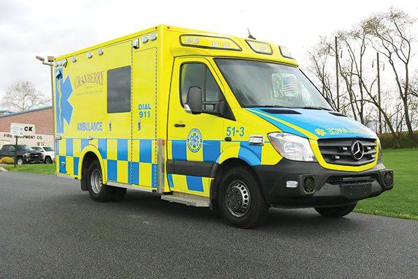 CRANBERRY TWP EMS Demers MX-152 Type III Ambulance