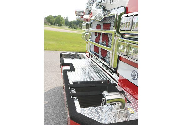 MONROE FIRE COMPANY Pierce Enforcer PUC Pumper Tanker
