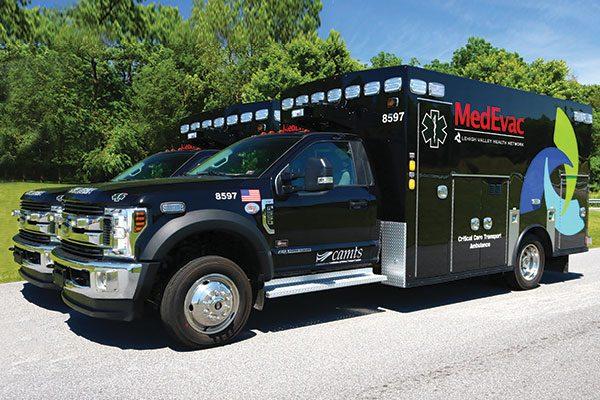 LEHIGH VALLEY HEALTH NETWORK Braun Chief XL Ambulance