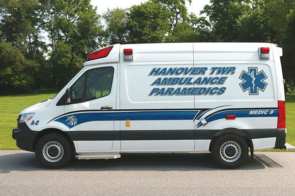 HANOVER TWP COMMUNITY AMBULANCE - Demers Sprinter EXE Type II Ambulance