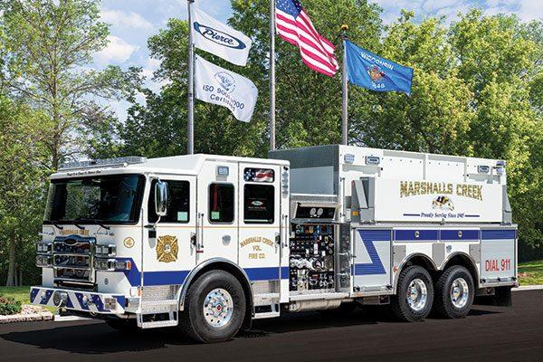 MARSHALLS CREEK VOL FIRE CO Pierce Enforcer Tanker/Pumper