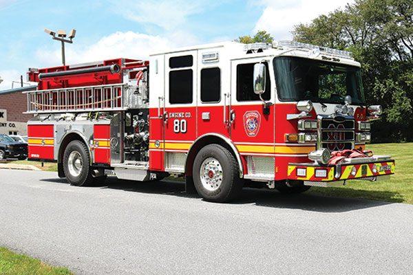 Columbia Borought Fire Dept Pierce Pumper