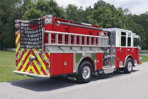 Columbia Borough Fire Dept Pierce Pumper