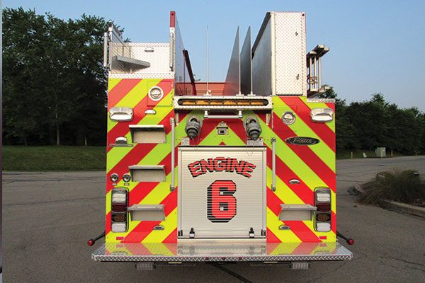 ERIE FIRE DEPT. Pierce Pierce Enforcer Pumper