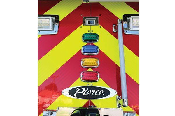 CAERNARVON FIRE COMPANY Pierce Enforcer Pumper Tanker