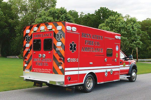 BRYN ATHYN FIRE COMPANY Braun Chief XL Type I Ambulance