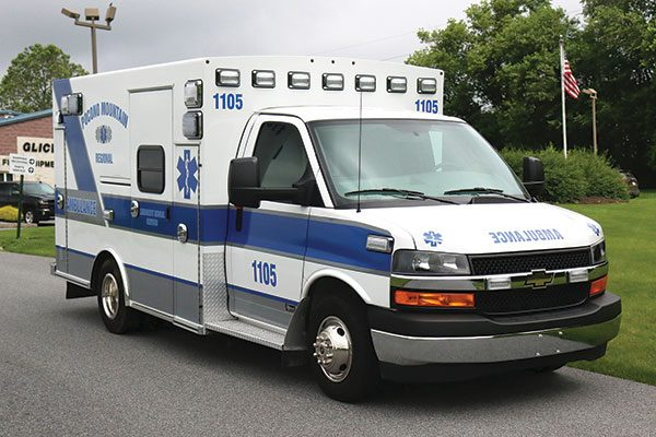 POCONO MOUNTAIN REGIONAL EMS - Braun Express Type III Ambulance
