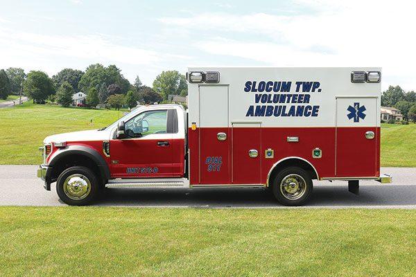 SLOCUM FIRE DEPARTMENT & EMS Braun Express Plus Type 1 ambulance