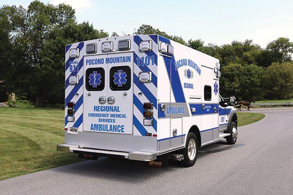 POCONO MOUNTAIN REGIONAL EMS - Braun Express Plus Type I Ambulance