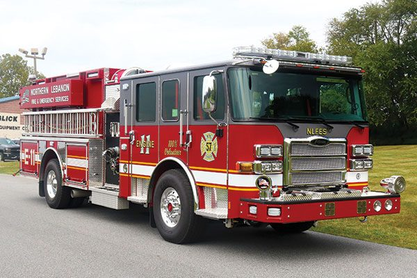 NORTHERN LEBANON FIRE AND EMERGENCY SERVICES Pierce Enforcer Pumper