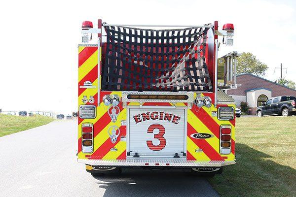 LANCASTER CITY FIRE DEPT Pierce Enforcer Pumper