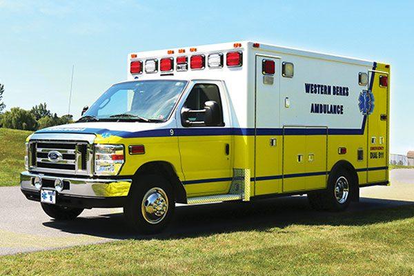 WESTERN BERKS AMBULANCE INC - Type III ambulance