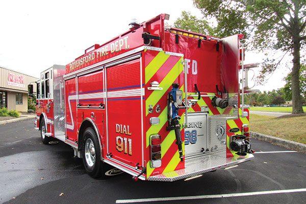 ROYERSFORD FIRE DEPT Pierce Saber Pumper