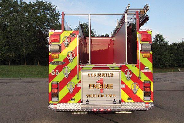 ELFINWILD VOLUNTEER FIRE CO Pierce Enforcer Pumper