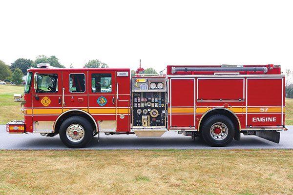Quarryville Fire Company Pierce Enforcer Pumper