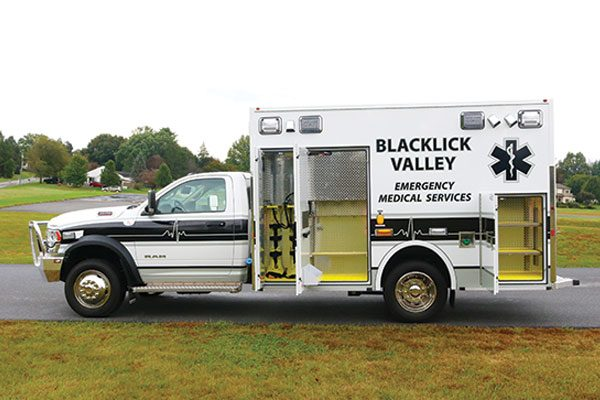 BLACKLICK VALLEY FOUNDATION & AMB SERVICE - Demers MXP150 Ambulance