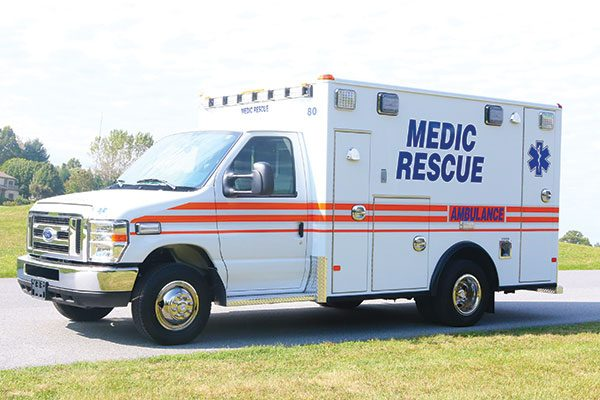 MEDIC RESCUE First Priority Remount Type III Ambulance