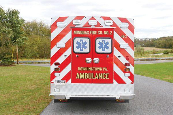 MINQUAS FIRE COMPANY Braun Liberty Type I Ambulance
