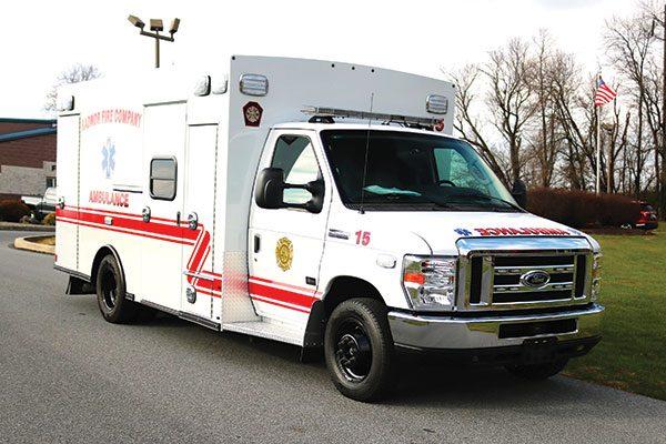 RADNOR FIRE COMPANY Braun Chief XL Type III ambulance