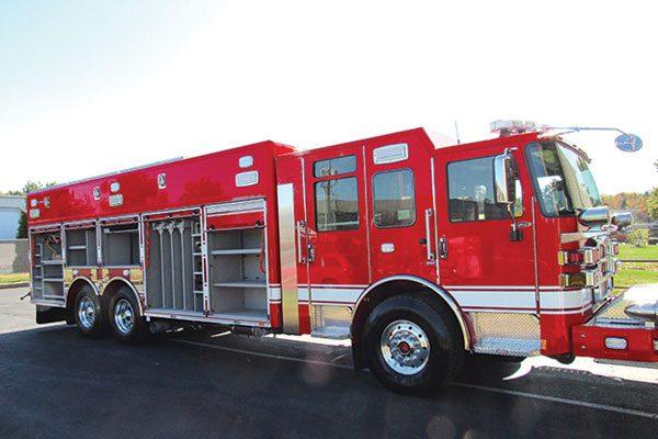 HARMONVILLE FIRE COMPANY - 2020 Pierce Enforcer Non-Walk-In Heavy-Duty Rescue