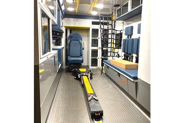 WOODLAND HILLS EMS Demers MXP150 Type 1 Ambulance