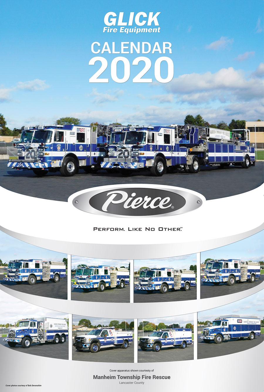 Pierce Glick Calendar 2020