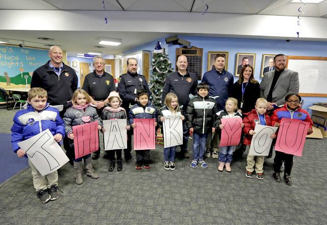 Wilkes Barre Fire Dept coat donation