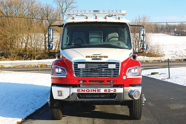 RIDGE FIRE COMPANY Pierce Freightliner Pumper