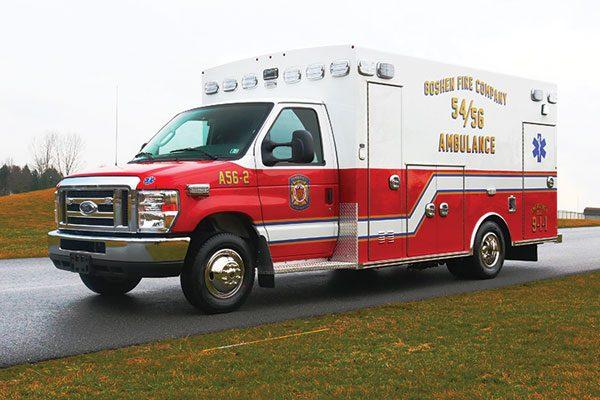 Goshen Fire Company Braun Braun Chief XL Type III Ambulance
